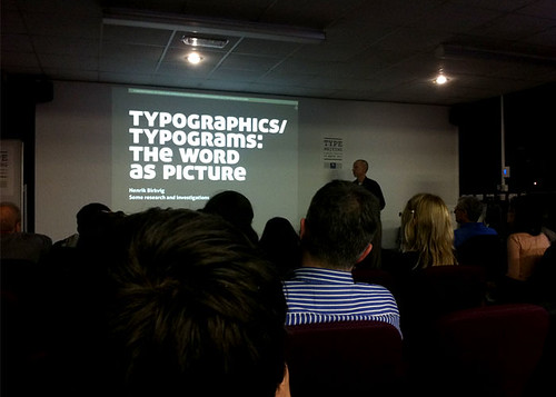 05 Henrik Birkvig from the School of Media and Journalism in Denmark reveals his obsession - collecting typograms