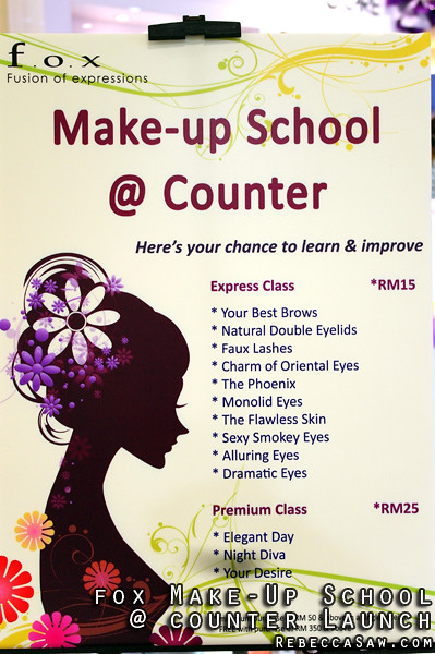 fox make-up school launch copy