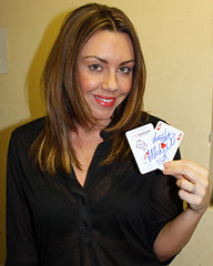 Actress and singer Michelle Heaton supporting Great Ormond Street Hospital for children