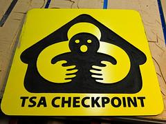 TSA (Gerard Van der Leun) Tags: make sign homemade cncrouter tsacheckpoint phoenixasylum canons90