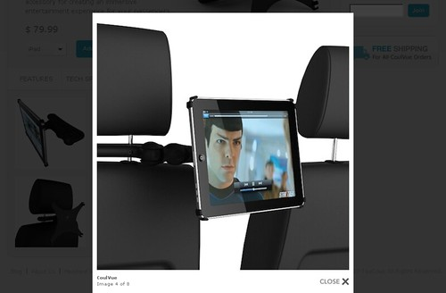 CoulVue - iPad Rear Seat Entertainment Kit
