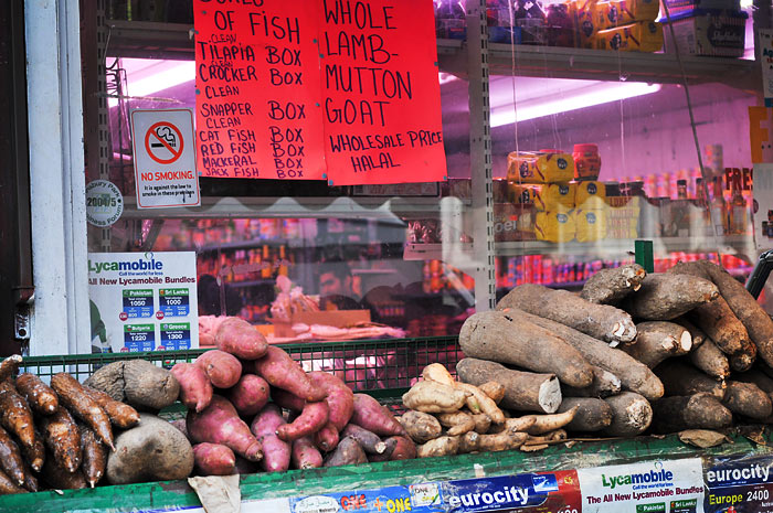Four types of yam!