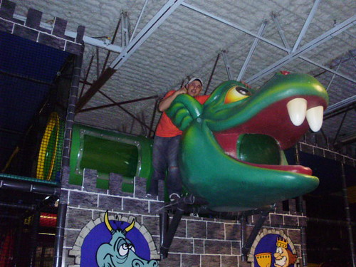 Themed Indoor Playground - Dragon/Castle