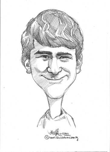 caricature in pencil - 2