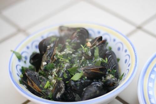 Mussel Dinner