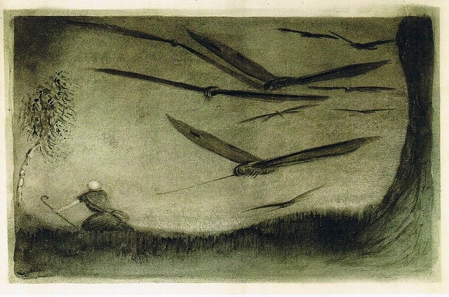 Alfred Kubin - The Pursued One