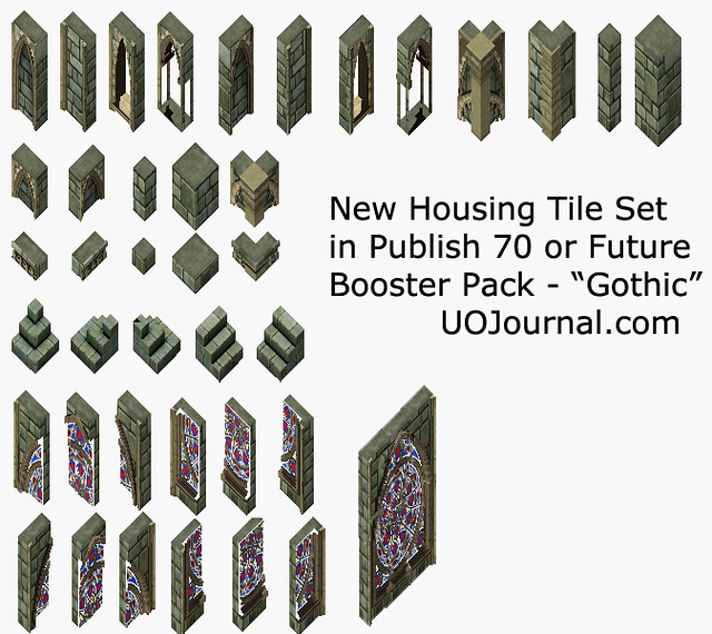 Ultima Online - Housing tile - Publish 70 - Gothic