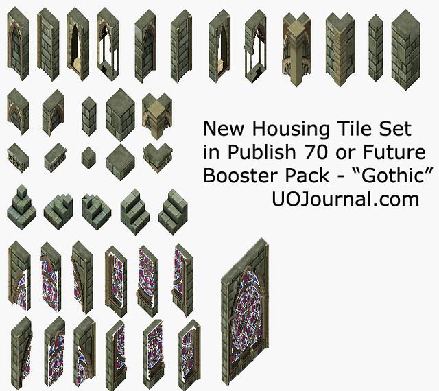 Ultima Online - Housing tile - Publish 70 - Gothic