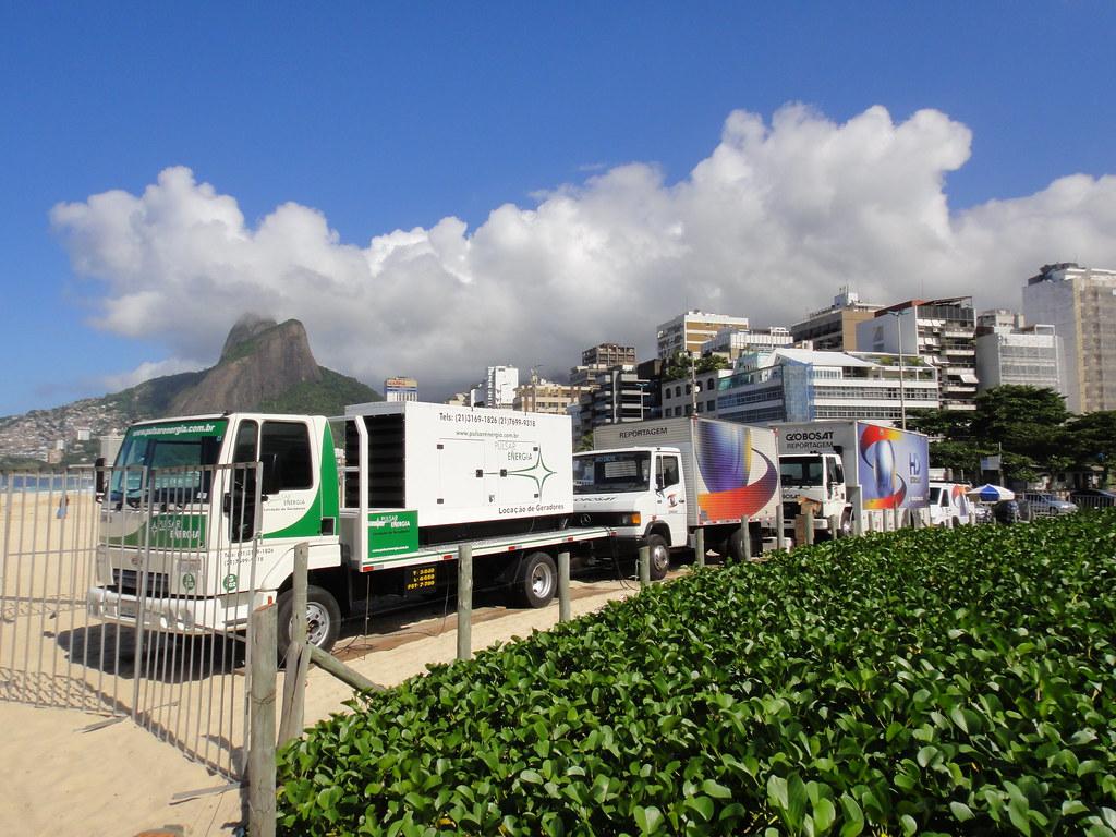 Pulsar Energia fornecendo energia à Globosat no Mundial de Futevôlei 4x4