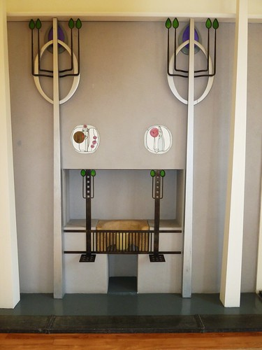 Fireplace, House for an Art Lover