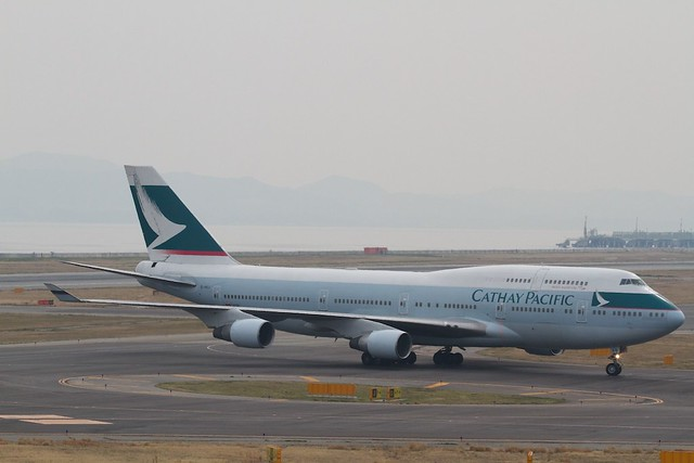 Cathay Pacificc B747-400