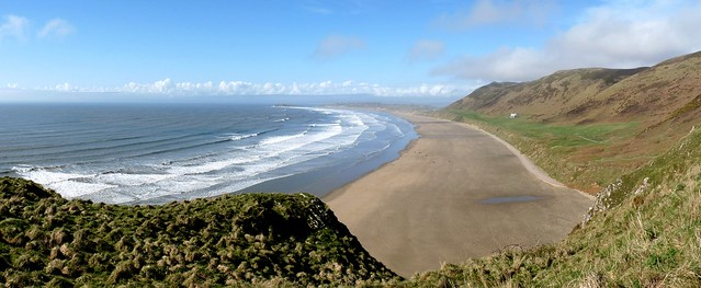 24134 - Rhossili Beach, Gower