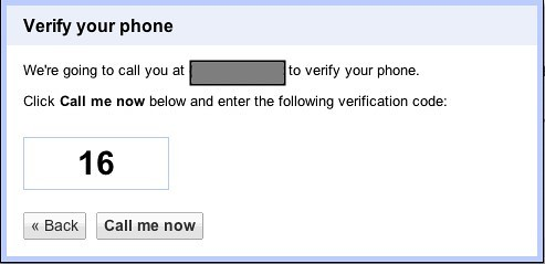 Verify your phone