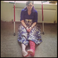 holly17055 (cb_777a) Tags: broken leg ankle foot cast crutches toes england