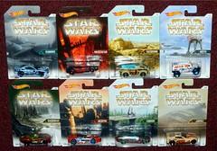 Hot Wheels - Planet Cars (Darth Ray) Tags: walmart exclusive hot wheels star wars planet cars kamino mustafar tatooine hoth dagobah bespin endor jakku