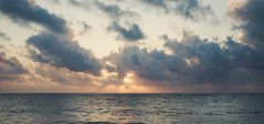the sun is kissing the ocean (Benedict Beirer) Tags: italy sicily summer europe dolcevita trapani sunset clouds light beam strokes
