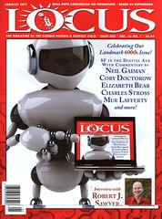 Locus cover for January 2011