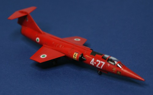 Revell 1/144 - F-104 Starfighter - Italian Ferrari - Completed - 1