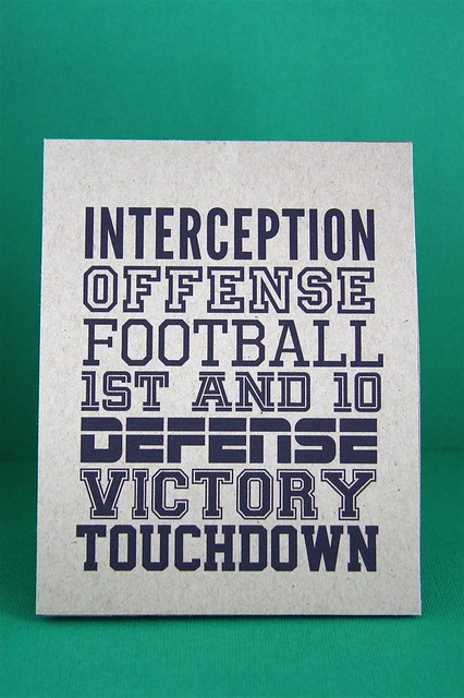 Football Printable