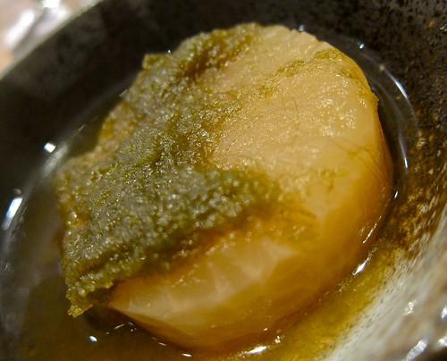 Yamamura farms daikon radish oden