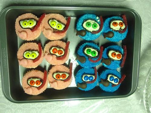 snorkeler cupcakes