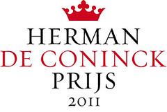 Logo Herman De Coninckprijs 2011