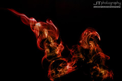 Smoke Fire (J T Photography) Tags: abstract colour photoshop canon fire intense smoke sigma strobist
