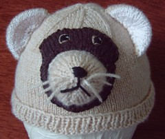 ferret 2 (Impression-Knits) Tags: fun weird ferret ferrets knitting funny hats novelty novel unusual knitted stange