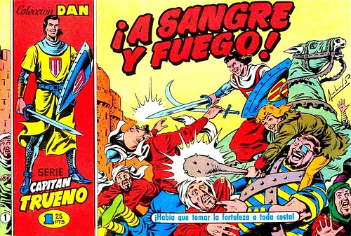 026-El capitan trueno portada nº 1- 1956