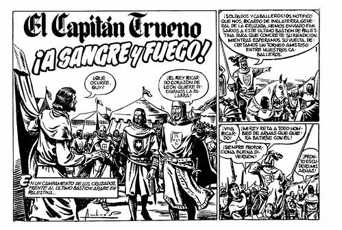 027-El capitan trueno nº 1-pagina 1ª- 1956