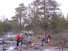 IMG_1135 (Sama Expediciones Viajes de Aventura) Tags: trekking finlandia aventura laponia lemmenjoki viajesaventuralaponia lemmenjokinaturalpark viajetrekkinglaponia