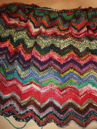 Zig Zag Knitting