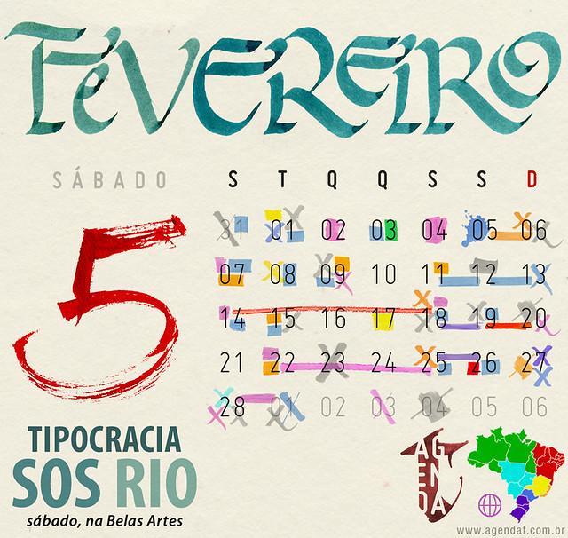 AgendaT fevereiro 2011 by Tipocracia