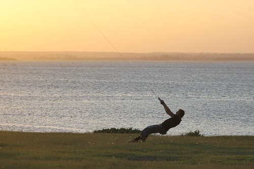 2011-01-29 Kite Surfer II