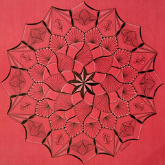 mandala014 (Amaryllis Creations) Tags: mandala penink zentangle