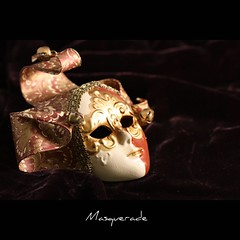 Masquerade (John-Morgan) Tags: party macro theater mask deception carnivale masquerade harlequin johnmorgan macromonday