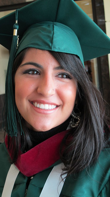 Graduate Angela Amato received a Bachelor of Science in Media Design- Multimedia.
