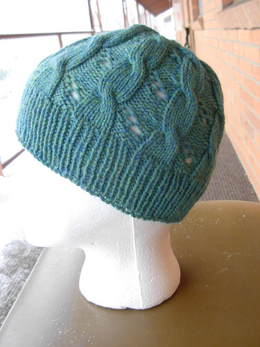 January 31, 2011 - Hermione Cable Hat