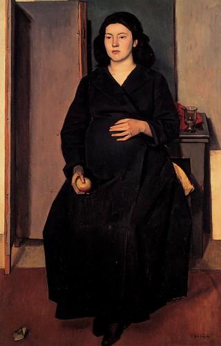 Yiannis Moralis, Pregnant woman