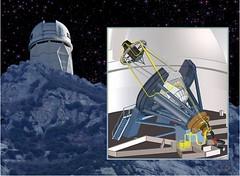 Telescopio Mayall y BigBoss