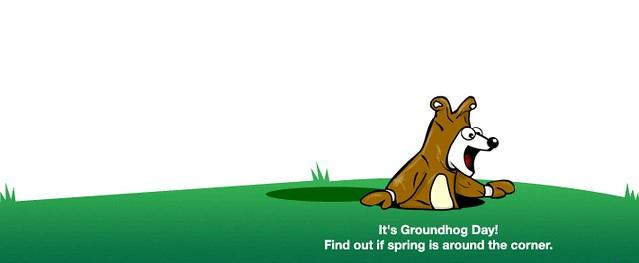 dogpile Groundhog Day