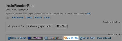 Pipes: InstaReaderPipe - Firefox
