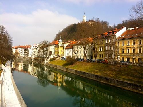 Ljubljana - river walk