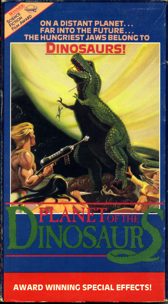 Planet of the Dinosaurs (VHS Box Art)
