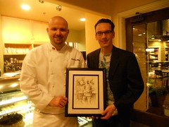 Chef Daniel Moody and artist Christopher M. (Exclusive Collections Gallery) Tags: relate christopherm popuprestaurant danmoody relationchef ecgallery exclusivecollections relaterestaurant
