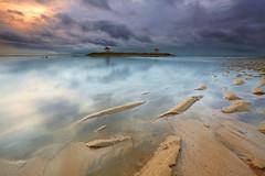 Pantai Karang (tropicaLiving - Jessy Eykendorp) Tags: light bali seascape beach nature sunrise canon reflections indonesia landscape sand sandy wave textures lee ripples filters 1022mm sanur gnd canoneos50d pantaikarang
