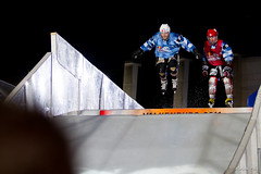RedBull Crashed Ice 2011 - Valkenburg (Nederlands) (NathanPolis) Tags: world blue red 2 canada blur gabriel ice hockey night race canon eos is championship cross quebec 21 crashed d 5 iceskating skating champion 7 15 bull downhill andre course 2nd 200 skate 7d finished iced 28 monde 70 nuit nederlands 15th 70200 redbull glace patin valkenburg championnat 2011 croxall scott