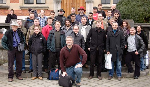 Free Java devroom 2011 group photo