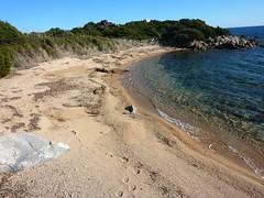 Quatrième plage après Marina di Fiori (avec source)
