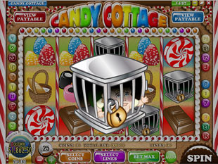 free Candy Cottage slot scatter symbol
